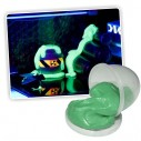 Plastilina Glow in the dark Thinking Putty rebota estira rompe