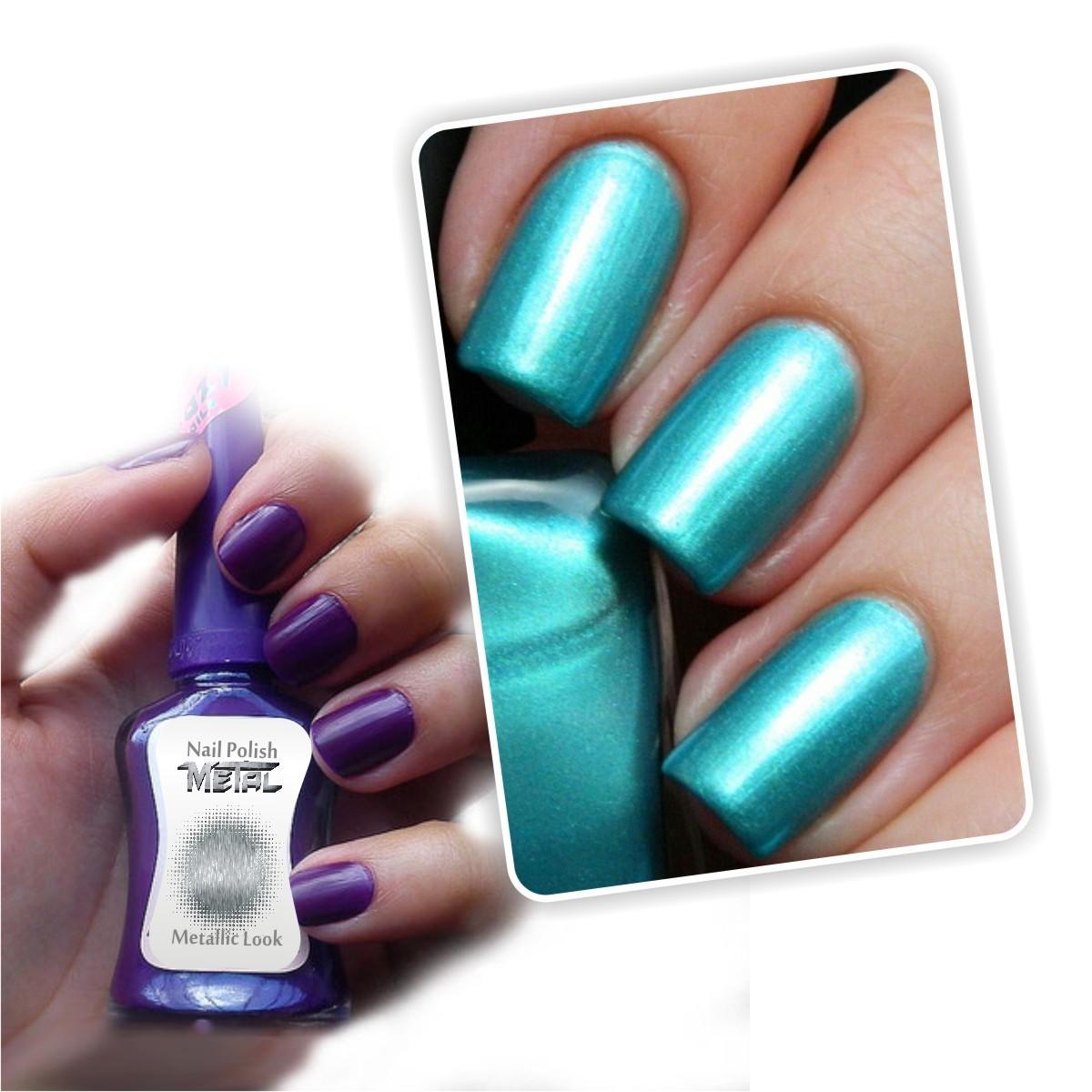 ¡Lleva tus uñas a una nueva dimensión!¿Quieres un toque diferente en tus uñas? Prueba el nuevo Esmalte Gel con acabados metálicos. ¡Lleva tus uñas a una nueva dimensión!¿Quieres un toque diferente en tus uñas? Prueba el nuevo Esmalte Gel con acabados metálicos.