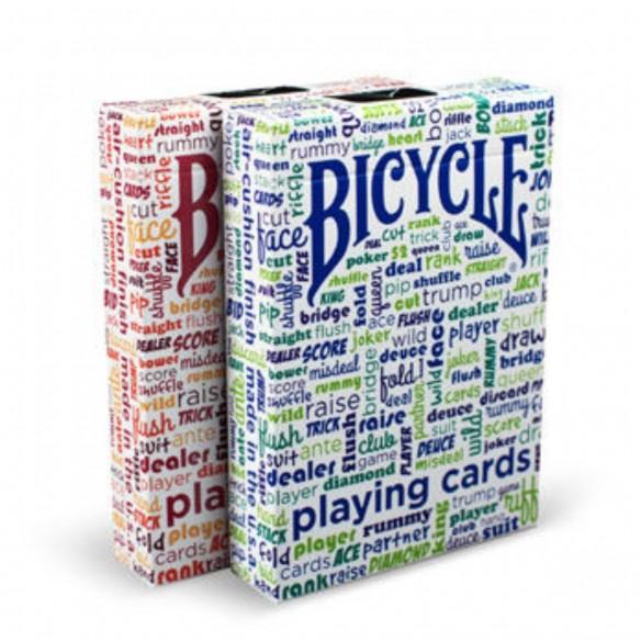 Juego de Cartas Bicycle Table Talk Playing Cards Baraja Pocker importadas