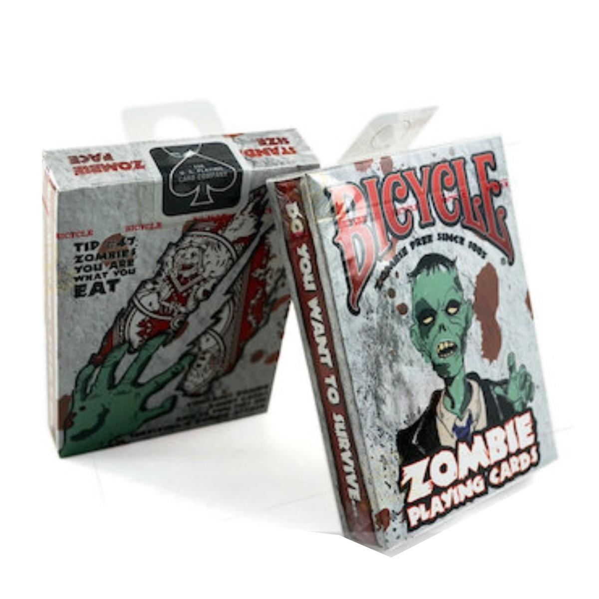 Zombie poker cards
