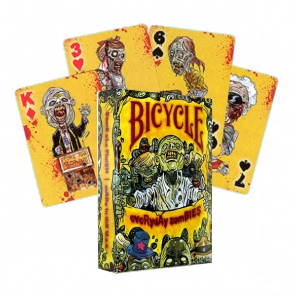 Juego de Cartas Bicycle Everyday Zombies Playing Cards Baraja Naipe Pocker importadas