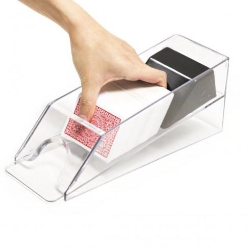 Dispensador de cartas en acrílico de alta calidad pocker hasta 6 mazos