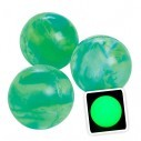Pelota Loca Glow in the dark brilla en la oscuridad