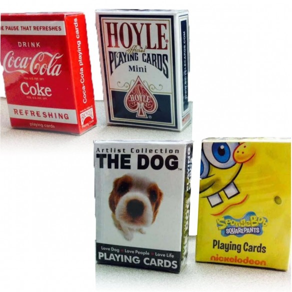 Juego de Cartas Bicycle Mini de Coca Cola Playing Card