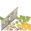 Cuchilla especial para rebanar las barritas de fimos, cuchilla super afilada Nail Art