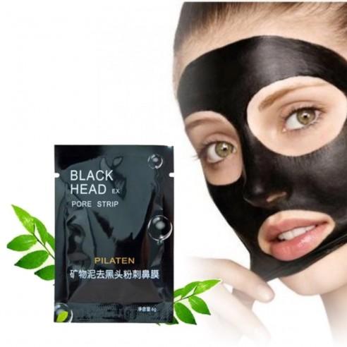 Mascarilla Limpiadora Negra remueve y elimina los puntos negros acné y grasa