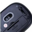 Mouse Inalámbrico Nano 2.4G Wireless Optical Mouse 1600 DPI Switch