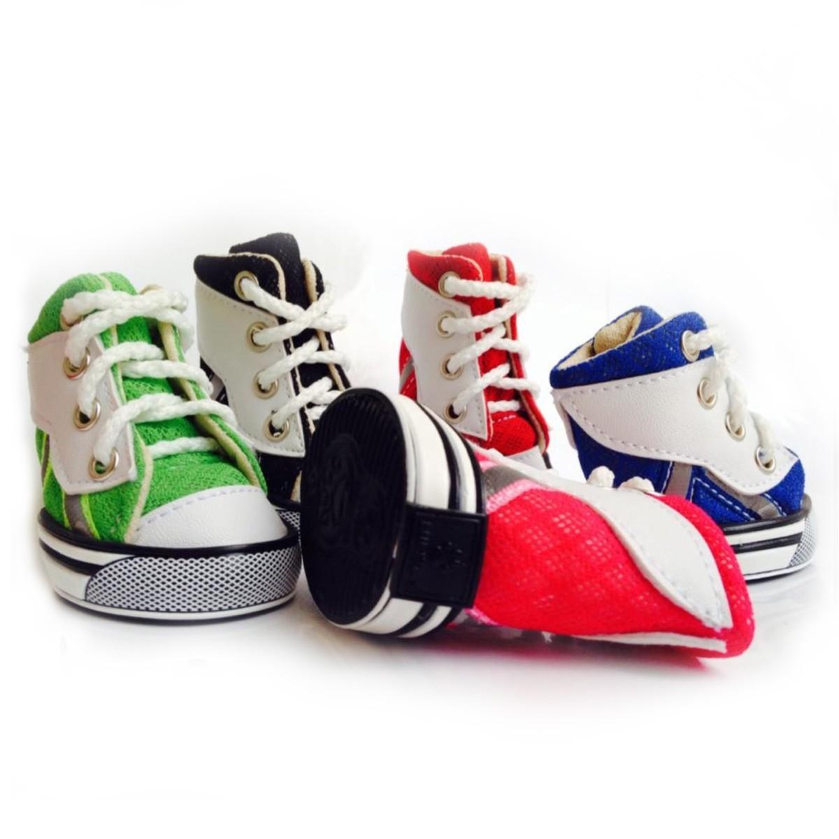 Zapatos Tenis Kpets tipo Deportivo en Malla para Perro Calzado Mascota b6e5fbb4fa193