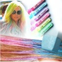 Caja de 6 Tizas UV Glow tinte temporal Hair Chalk