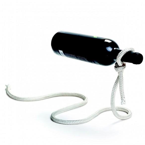 Cuerda Mágica porta Botella de vino Lazo soporte decorativo y novedoso