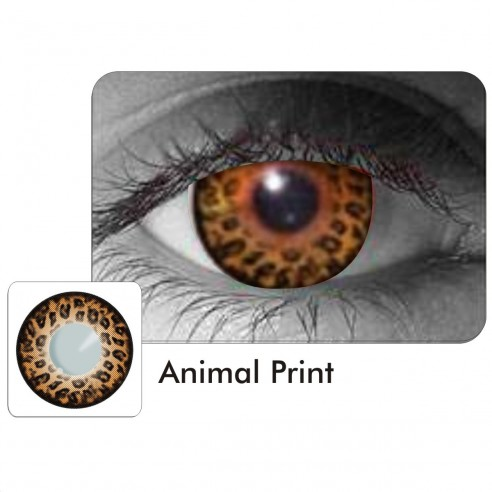 Lentes Locos Animal Print Crazy Lentes Halloween