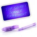 Lapicero mágico, esfero con tinta invisible, se revela con la luz UV