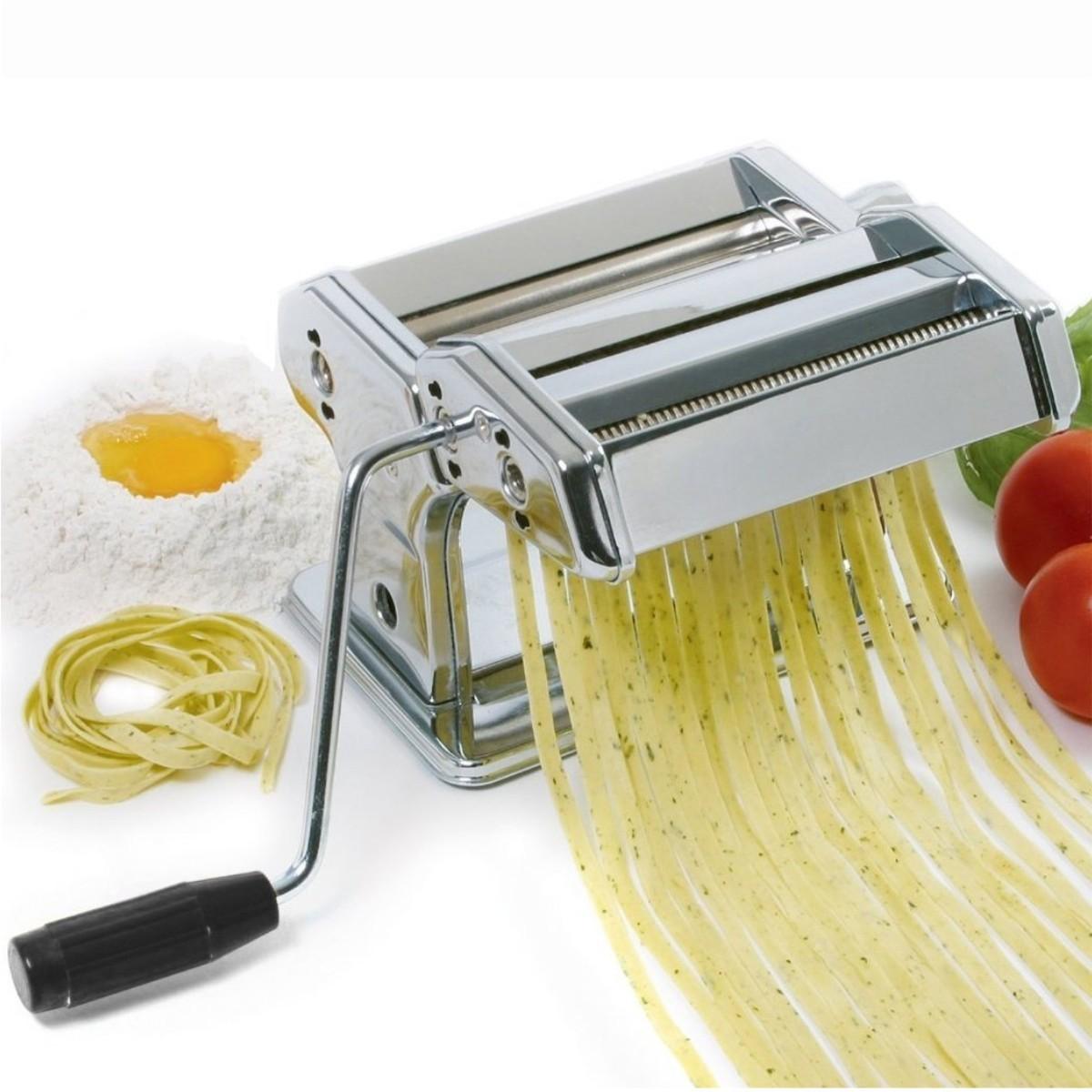 M quina para hacer pasta en acero inoxidable spaghetti - Maquina para hacer pastas caseras ...
