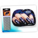 Kit de plantillas Nail Art Reutilizables Templates Nail Art Salon