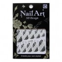 Kit Esmalte Autoadhesivo Patch 3D Nails Stickers