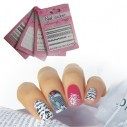 Kit Encajes 3D Bordes adhesivos Salon Effects Nail Art