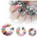 Kit Carrusel de decorativos, gemas, cristales y aplicativos