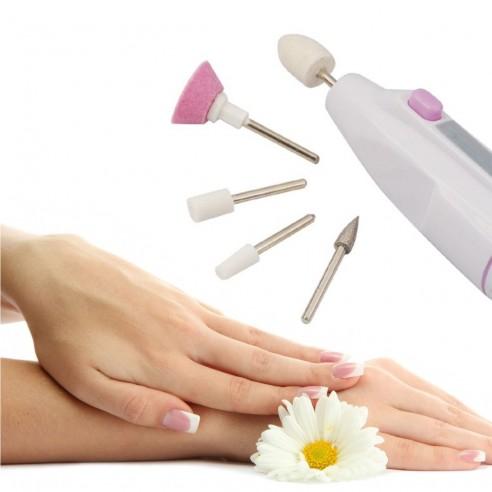 Kit para pulido Shaper + 5 htas manicure uñas
