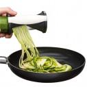 Renanador cortador en espiral de verduras elabora divertidas