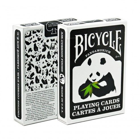 Juego de Cartas Bicycle Panda Playing Cards Baraja poker Originales