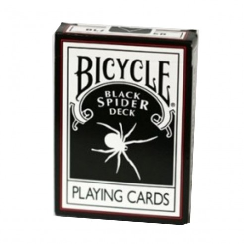 Juego de Cartas Bicycle The Black Spider Deck Playing Cards Baraja poker Originales