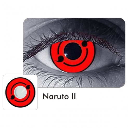 Lentes Locos Naruto Sharingan II Crazy Lentes Halloween