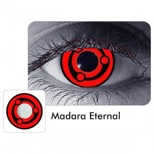 Lentes Locos Madara Eternal Crazy Lentes Halloween