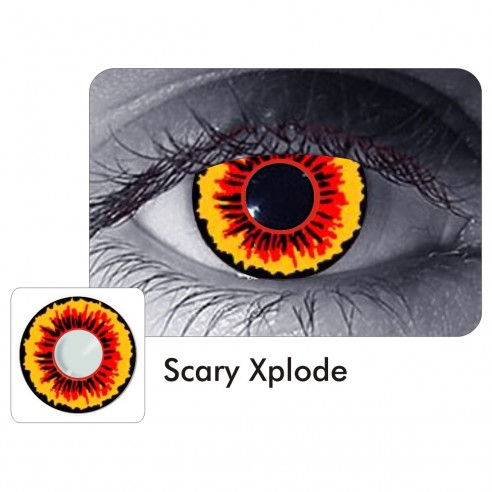 Lentes Locos Scary Xplode Crazy Lentes Halloween