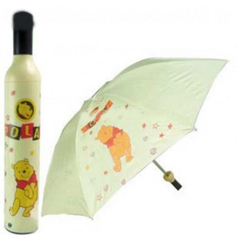 Sombrilla Fashion en forma de Botella UV protección colores 0% alcohol