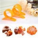 Pelador de la piel y Rebanador de Naranja y cítricos, corta y porciona