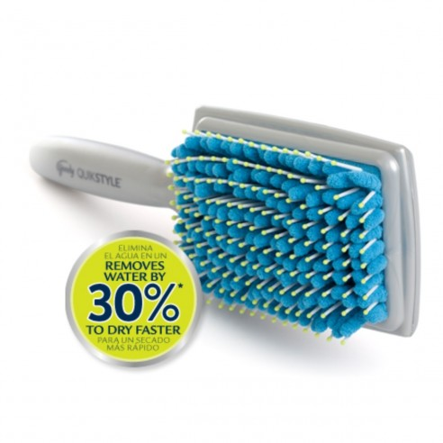 Cepillo Toalla Goody QuickStyle Paddle Brush peina y seca tu cabello