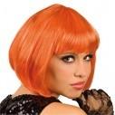 Peluca Corta de fantasía en colores para Halloween
