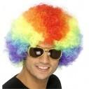 Pelucas Afro de fantasía en colores para Halloween