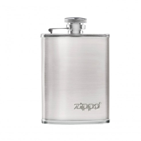 Licorera en Acero Zippo con tapa de seguridad Elegante 3oz