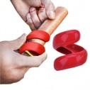 Spiral Hot Dog Barbacoa Cortador en espiral de salchillas, Cyclone