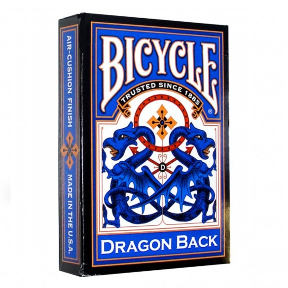 Juego de Cartas Dragon Back Blue Cards Baraja Pocker importadas