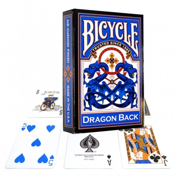Juego de Cartas Dragon Back Blue Cards Baraja Pocker importadas