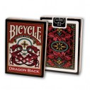 Juego de Cartas Dragon Back Red Cards Baraja Pocker importadas