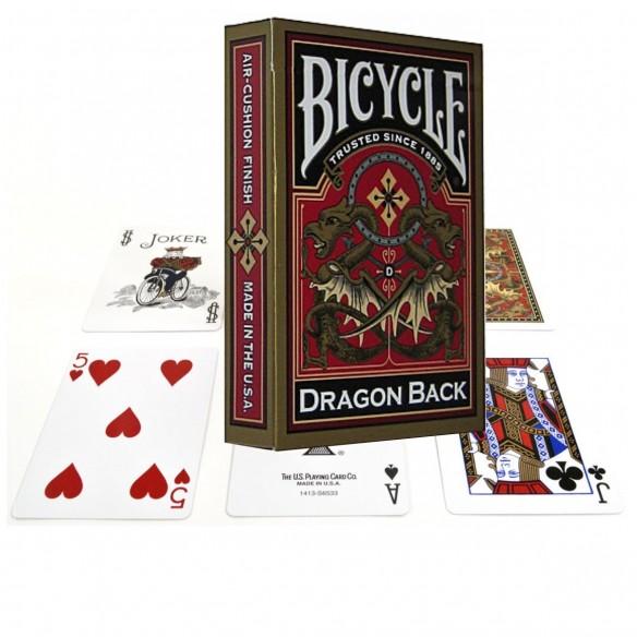Juego de Cartas Dragon Back Gold Cards Baraja Pocker importadas
