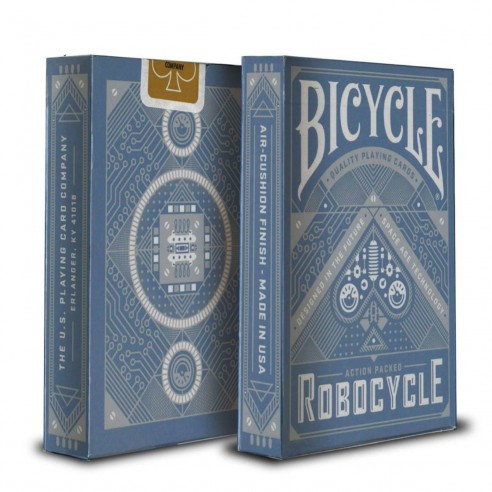 Juego de Cartas Robocycle Blue Playing Cards Baraja Pocker importadas