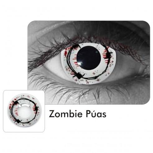 Lentes Crazy Zombie Púas Sangre Halloween