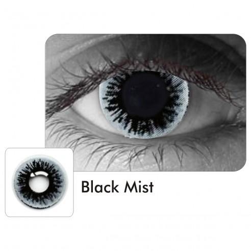 Lentes de Contacto Black Mist Resident Evil FX