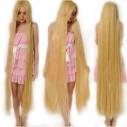 Peluca Lisa de 1.5mts extra larga cabello liso y resiste temperatura