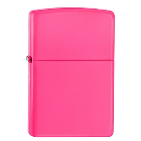 Encendedor Zippo Colors Neon Pink - Fucsia.