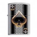 Encendedores Zippo Stamp Ace of Spades