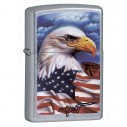 Encendedores Zippo Stamp Eagle Flag Mazzi