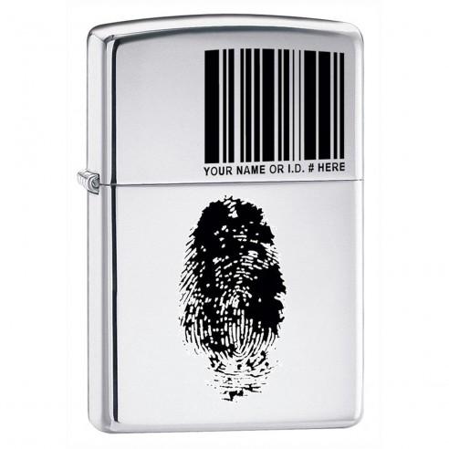 Encendedores Zippo Stamp Finger I.D High