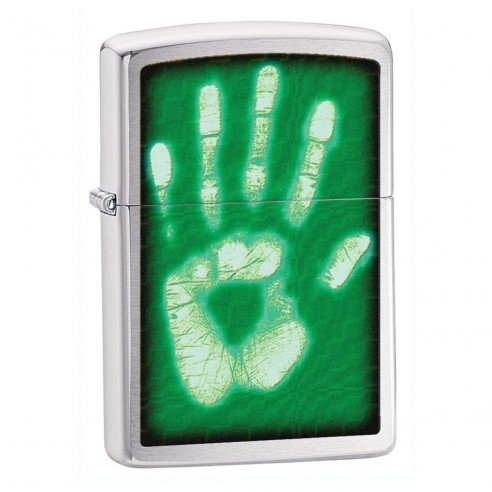 Encendedores Zippo Stamp Identity Hand Print
