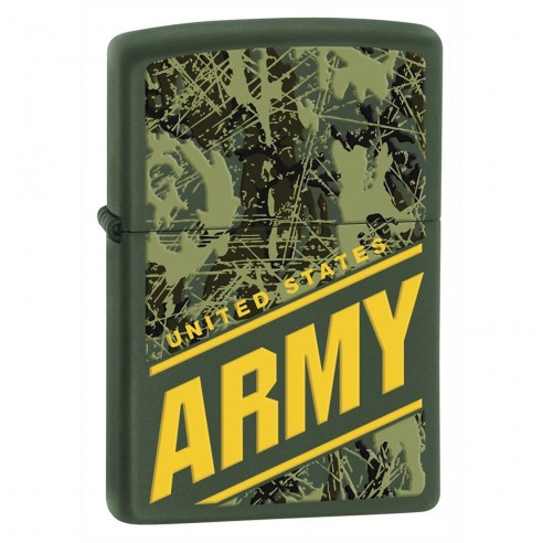 Encendedores Zippo Stamp Realtree Army -