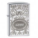 Encendedor Zippo Texture American Classic - Plateado